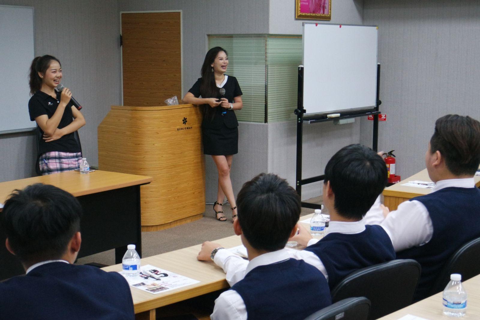 明台高級中學參訪